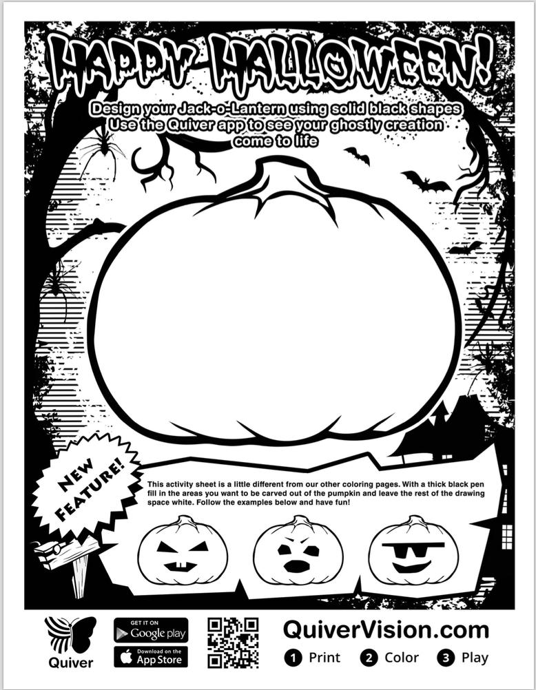 Quiver Masks App Ar Fun For Halloween Transform